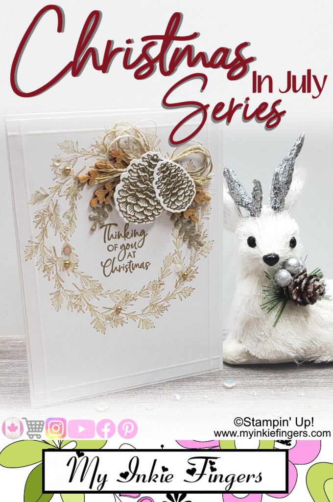 Easy Diy Stampin Up Christmas Cards My Inkie Fingers